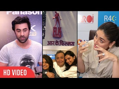 Ranbir Kapoor and Kareena Kapoor Khan Reaction on RK Legacy | RK Studio no more |Rishi Kapoor Health Mp3