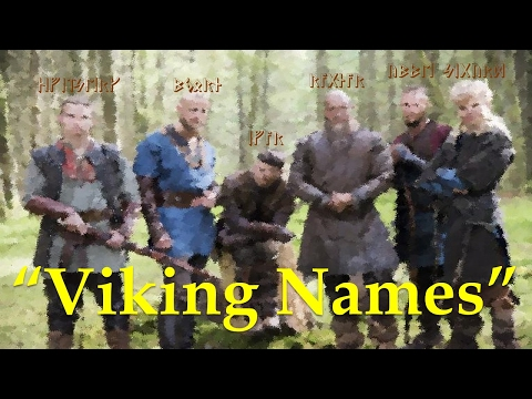 How Viking Names Work