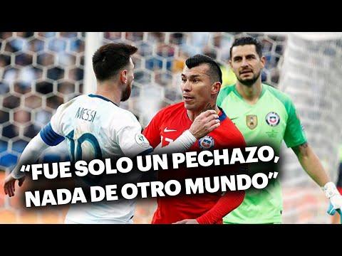 """Medel, de acuerdo con Messi: """"Alcanzaba con una amarilla para cada uno"""""""