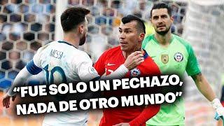 Medel, de acuerdo con Messi: