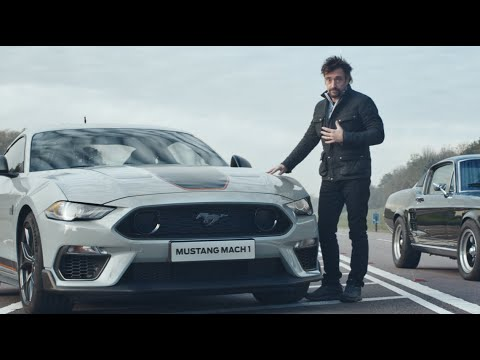 Richard Hammond drives the new Ford Mustang Mach 1