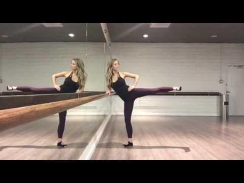 Side Leg Lift Barre Exercise