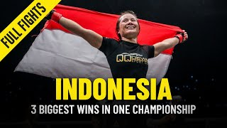 Indonesia's 3 Biggest Wins In ONE Championship