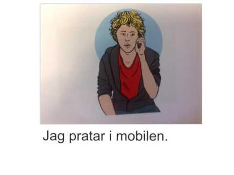 Tiếng Thụy Điển bài 8: Tôi đi học