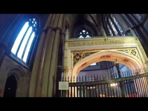 Inside Chapel of Trinity College in Cambridge