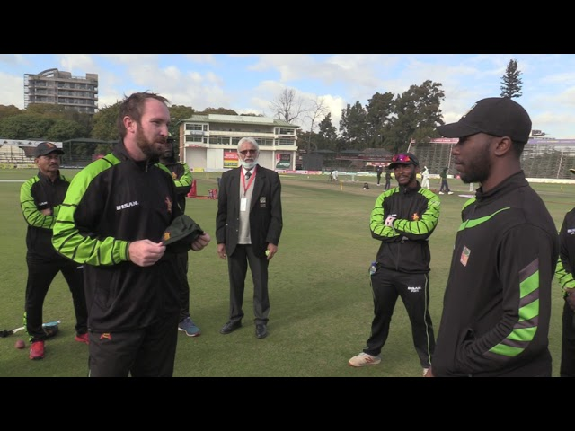 Test Debut | Dion Myers