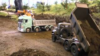 BIG RC CONSTRUCTION SITE! Amazing RC Machines at work