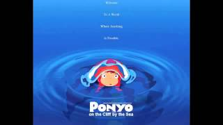 Ponyo on the Cliff by the Sea (Full Japanese Theme Song)