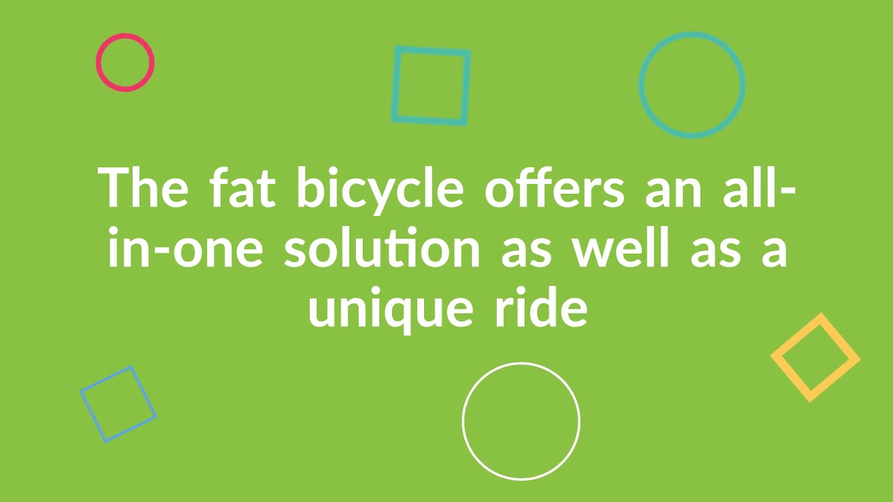 What Is A Fat Bicycle And What Do You Use Them For - RSD Bikes