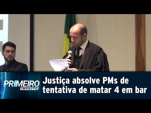 Justiça absolve dois PMs por tentativas de homicídio na Grande SP | Primeiro Impacto (07/08/18)