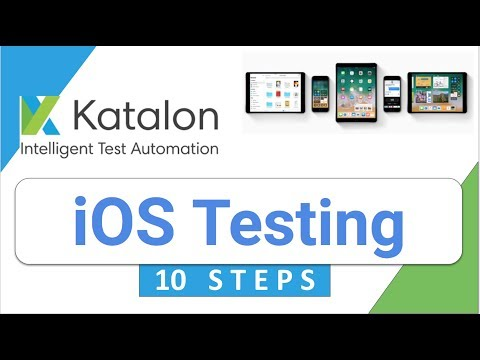 Katalon Studio 22: How to do Mobile (iOS) Testing via 10