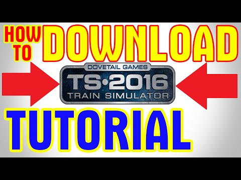 How To Download MSTS Indian Railways (Microsoft Train Simulator) by TechWorldGaming