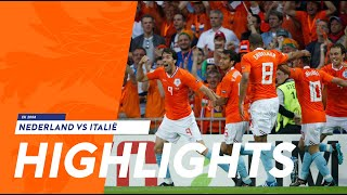 Highlights Nederland - Italië (09/06/2008)