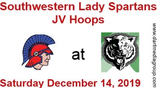 Southwestern JV Lady Spartans at Triton Central Lady Tigers