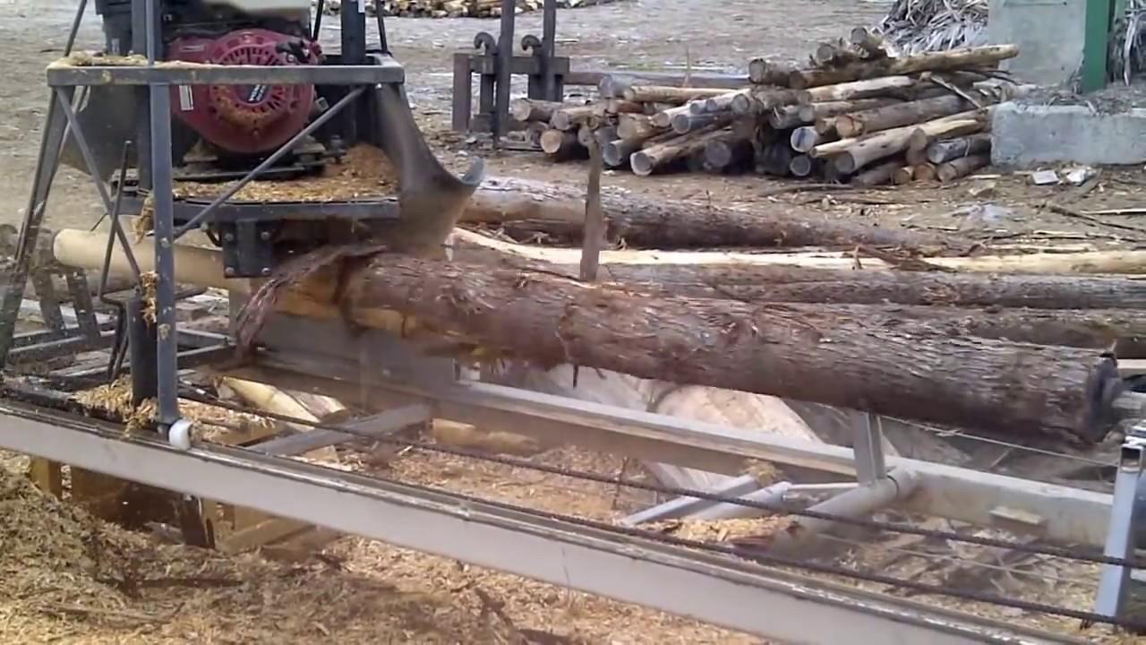 Cedar Log Lathe Doovi