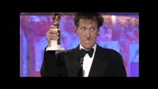 Geoffrey Rush Wins Best Actor Motion Picture Drama - Golden Globes 1997