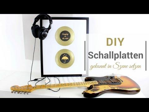 DIY: Schallplatten gekonnt