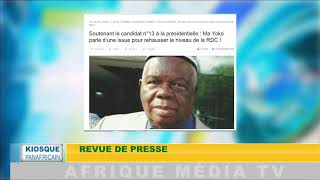 KIOSQUE PANAFRICAIN DU 14 12 2018