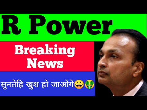 Download rpower share latest news   R power share Analysis   Rpower target   Reliance share #marketEducation