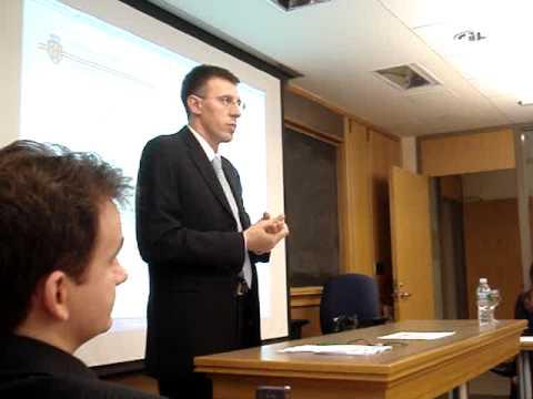 Dorin Chirtoaca at the Harvard Kennedy School of Government (3)