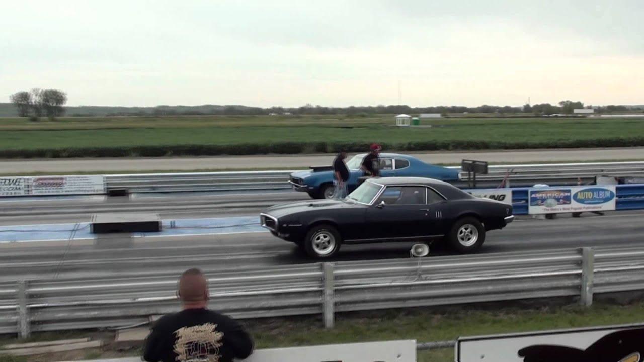 1968 Firebird Drag Race 670 HP Engine - YouTube