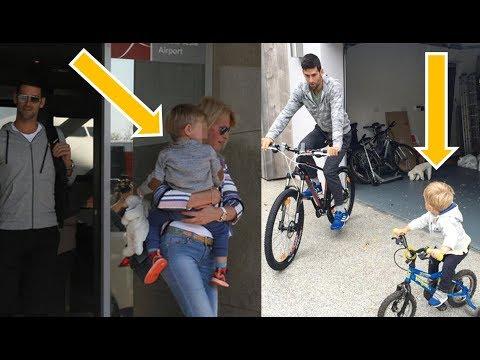 Novak Djokovic New Daughter#Tara Đoković #& Son #Stefan Đoković# Look What's Doing 2018