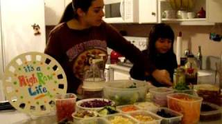It's A High Raw Life Episode 3 Salad Bar