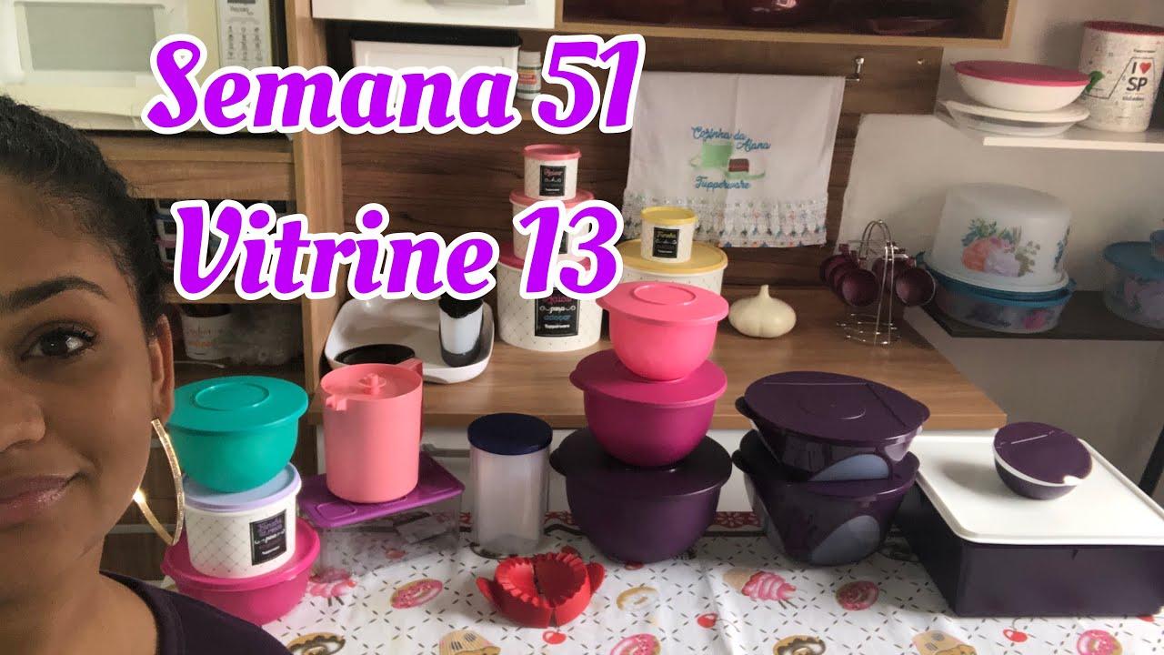 Abrindo Caixa Tupperware Semana 51 Vitrine 13 Youtube