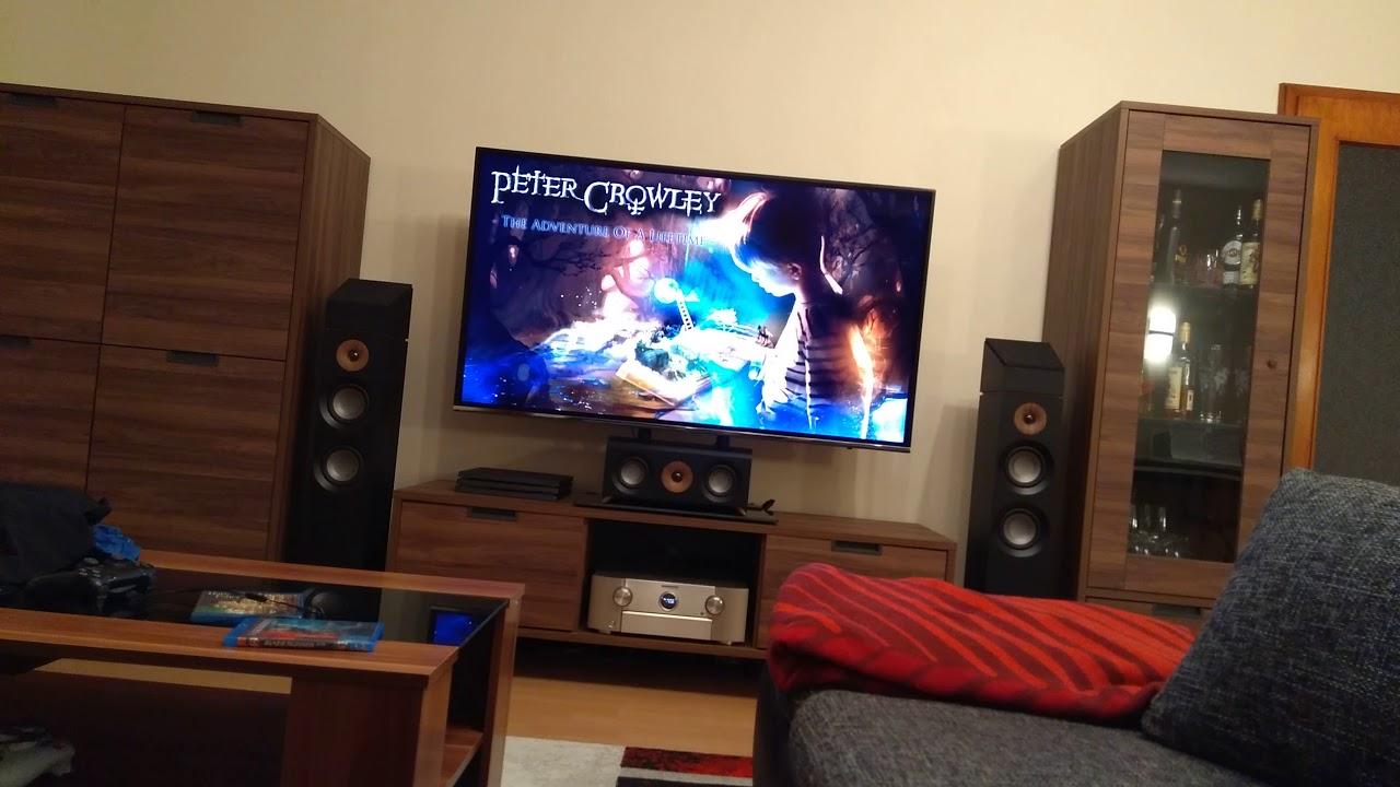 Jamo S807 HCS Sound Test (Peter Crowley - adventure of a lifetime)