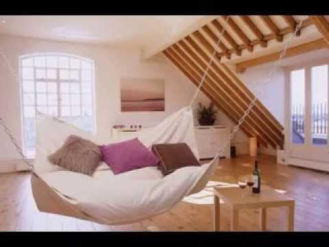 DIY Attic room decorating ideas - YouTube