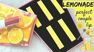 BIYW Review Chapter: #102 LEMONADE PERFECT COUPLE LIP SWATCH & REVIEW