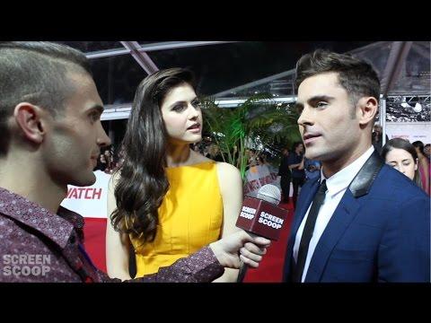 Baywatch Australian Premiere Interviews | Zac Efron & Alexandra Daddario