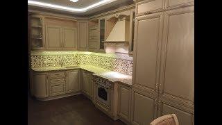 видео Кухни из дуба: элитная мебель из массива