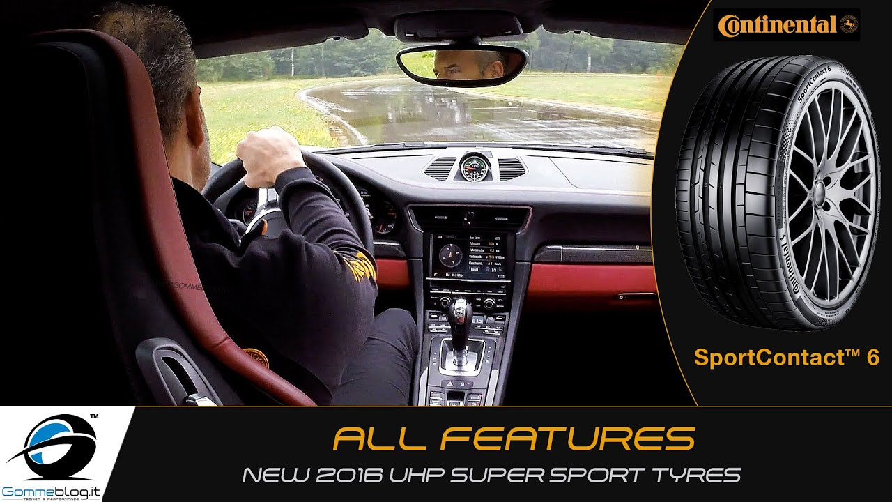 continental sportcontact 6 super sport car tyres youtube. Black Bedroom Furniture Sets. Home Design Ideas