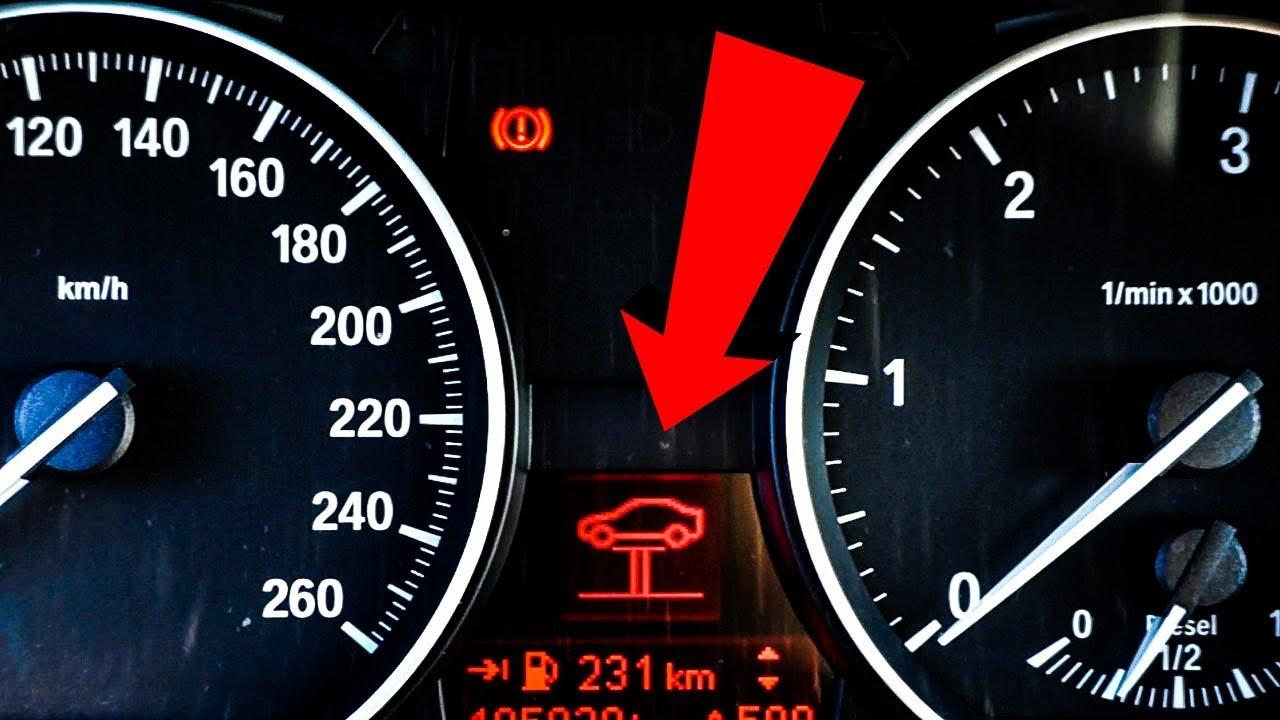Red Car On Lift Gate Error Bmw E90 2 Minutes Diagnostics Youtube