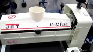 Обзор барабанного шлифовального станка (Drum Sander) Jet 16-32 Plus