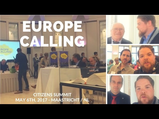 europe calling in Maastricht
