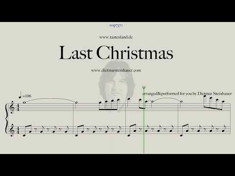Last Christmas  -  Easy Piano