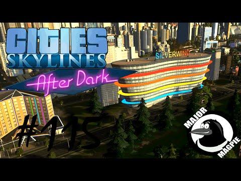 Cities Skylines Ep 115 - Hotels & Nightlife