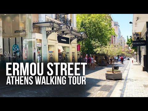 Ermou Street Athens | Walking Tour