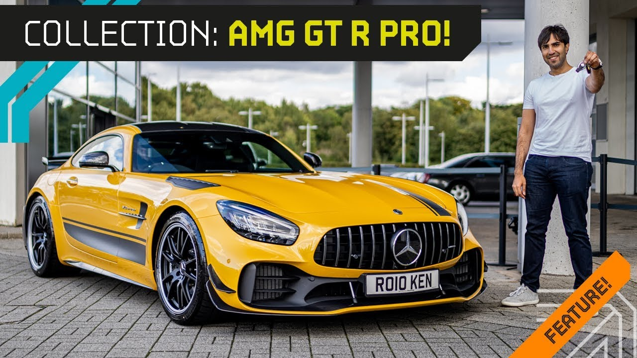 IT'S HERE!! Collecting My 2019 AMG GT-R PRO!