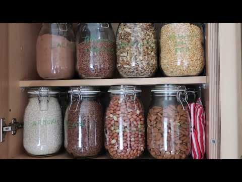 Low waste Bulk Food Storage: organic vegan