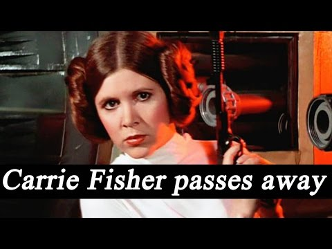 Star Wars icon Carrie Fisher passes away at 60 |FilmiBeat