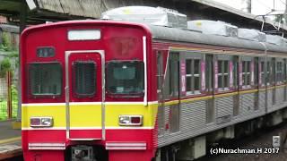 """suara khas """"piyuts"""" di KRL Commuter line seri 1000 dan 5000, air brake release ll エアブレーキ1000系5000系"""
