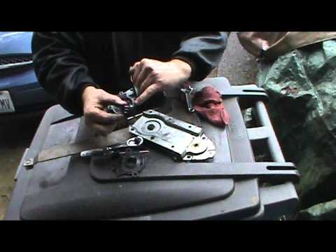 Power window motor remove and replace 1987 F150