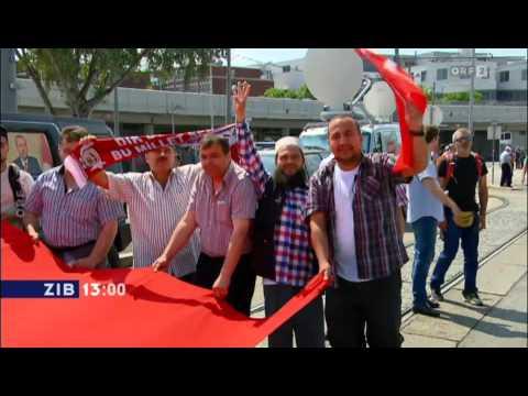 19.6.2014 ORF ZiB13: Erdogans umstrittener Besuch in Wien