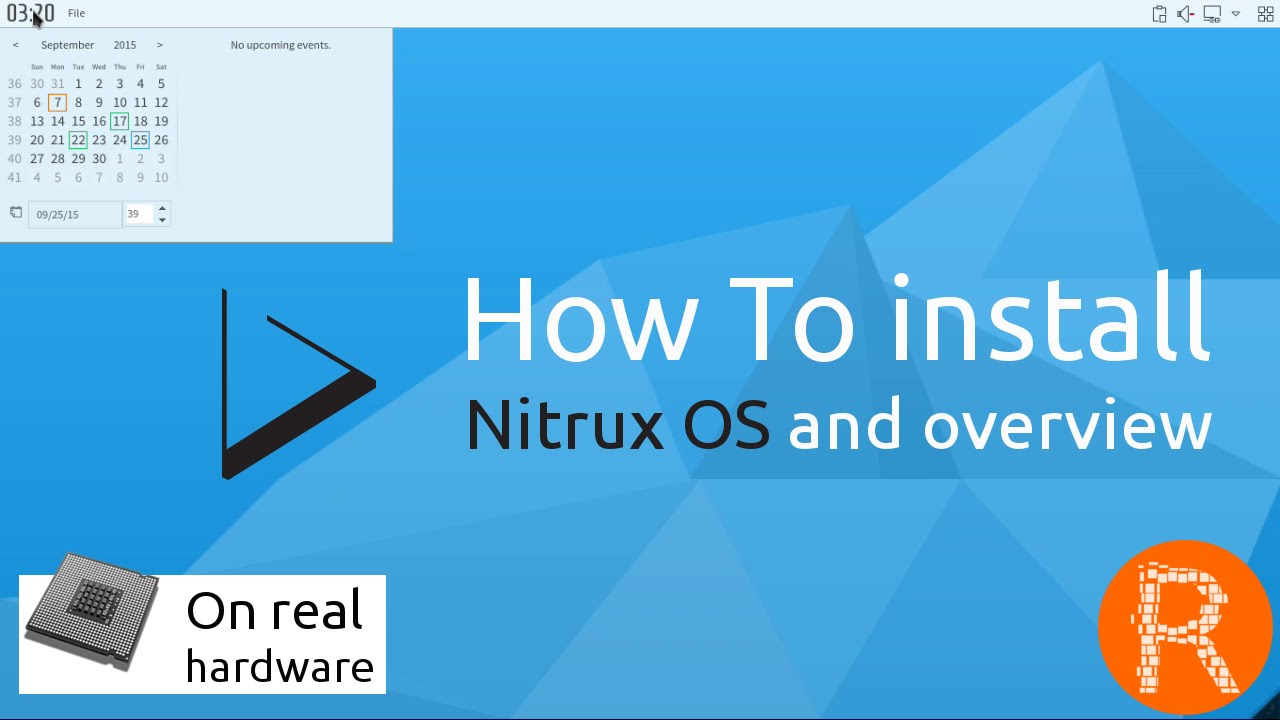 how to install nitrux os and overview simple