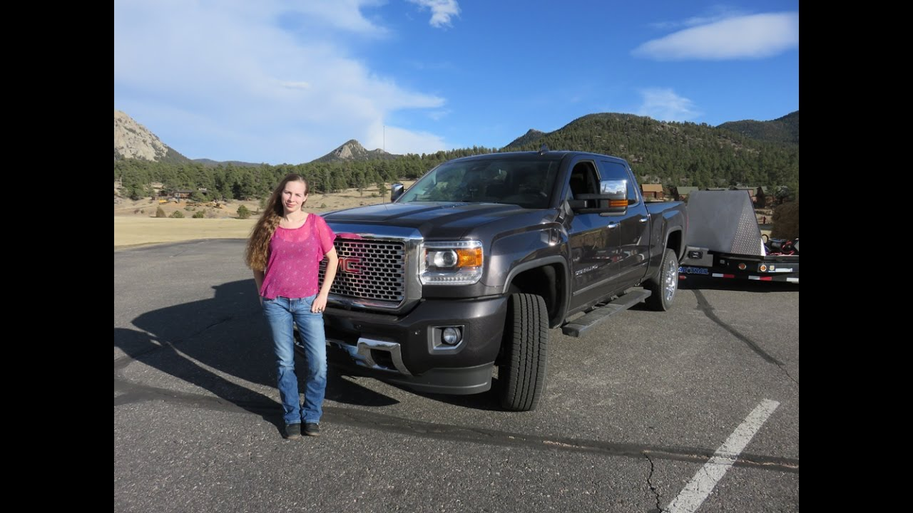 GMC Denali 2500 Review with Kent and Kelsey