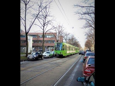 Besuch der Straßenbahn Hannover .Mit der Linie11 zum Zoo.