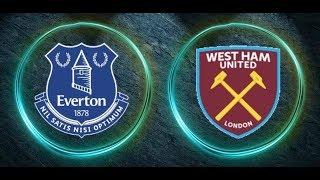 Everton 4 0 West Ham United Highlights & Goals  29-11-2017